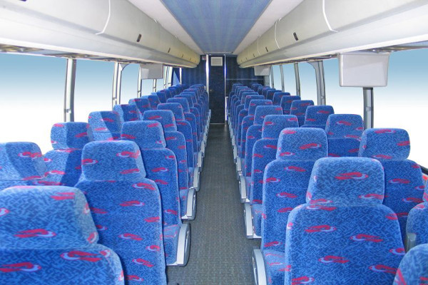 50 person charter bus rental Seattle